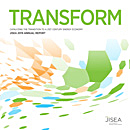 Report cover titled Transform